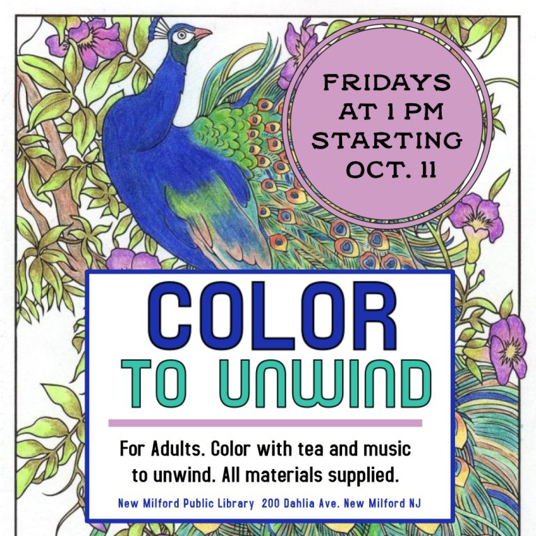 Color To Unwind for Adults