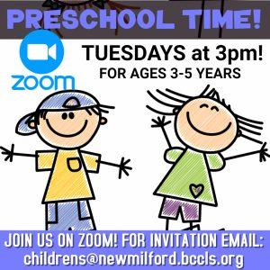 Zoom Preschool Time